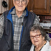 Rita Trainque in her kitchen with her husband Ray. They have been married for 64 years. SENTINEL & ENTERPRISE/JOHN LOVE