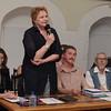 The inauguration - Natalia Cherkashina speaking / Торжественное открытие - выступление Н. Н. Черкашиной