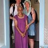 В Ашраме Шри Ауробиндо с ученицей Матери Латой и подругой Юлией