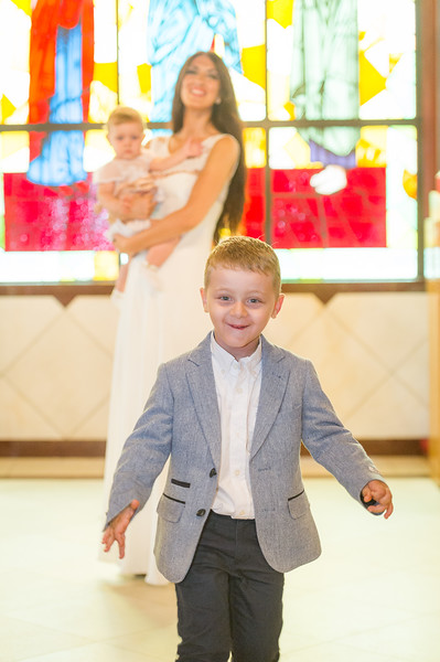 """New York, October 8, 2017 - Maria's Baptism at St. Catherine & George Greek Orthodox Church in Astoria, NY.   <a href=""""http://www.naskaras.com"""">http://www.naskaras.com</a>"""