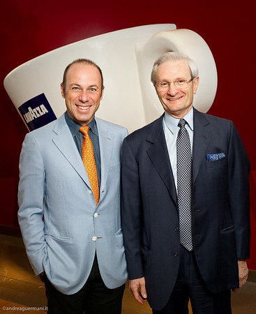 Portrait Giuseppe e Alberto Lavazza