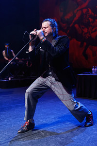 Rival Sons live at Fillmore Detroit on 5-9-2017. Photo credit: Ken Settle