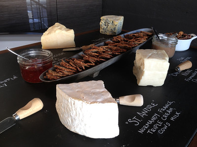 River Café Cheese Station