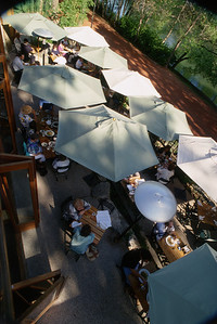 River Café Patio Umbrellas