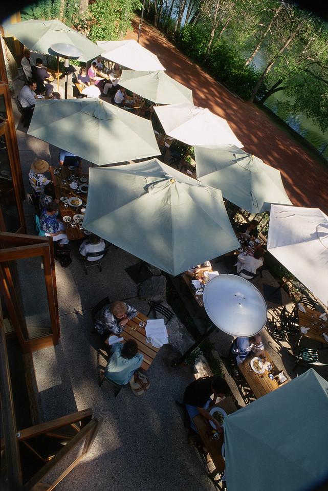 River Café Patio Umbrellas