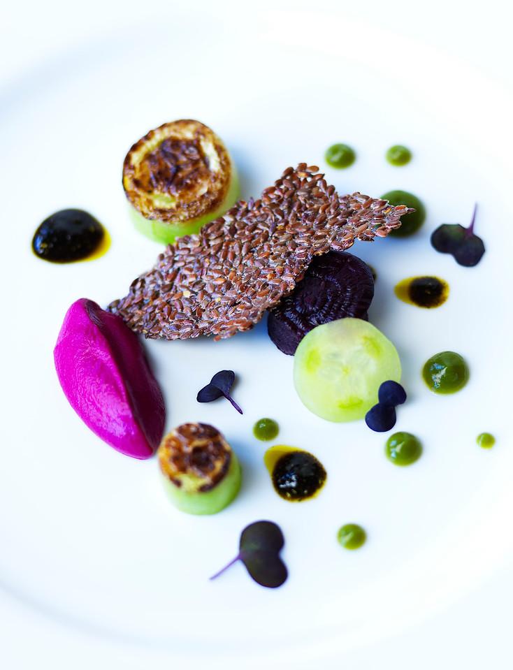 Charred Cucumber & Roast Beet