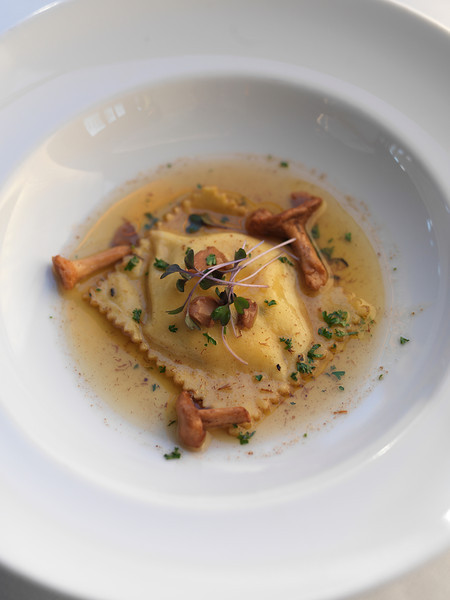 River Café Butternut Squash and Ricotta Raviolo
