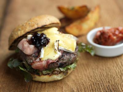 River Café Olson's Bison Burger