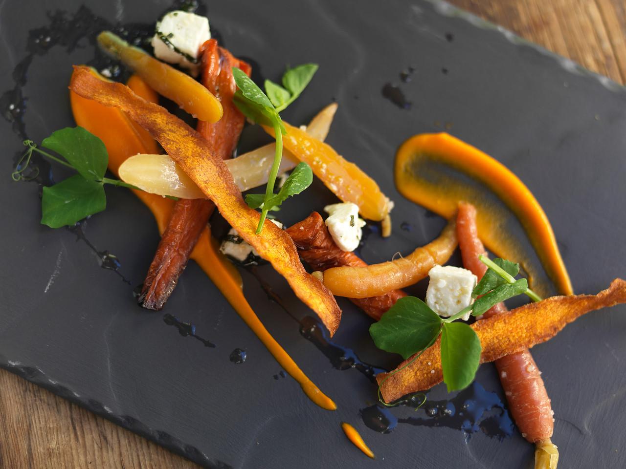River Cafe Carrot and Mozarella Salad