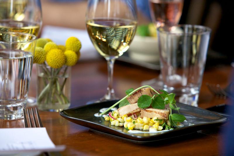 River Café, Rare Grilled Albacore Tuna