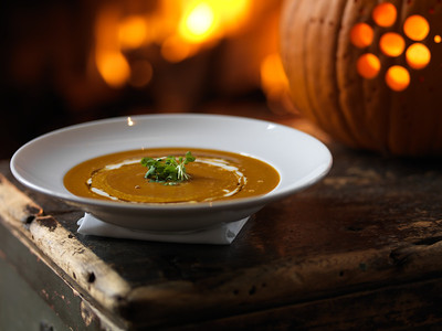 River Café Roasted Carrot and Split Pea Soup