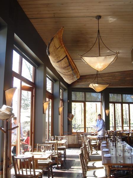 River Café, Birch Bark Canoe