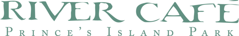 River Café  Logo Transparent Green