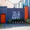 The Two Jail Birds back door
