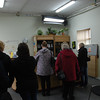 The reception at the Health Centre