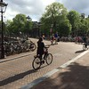 A few of the  million  or so bicycles in Amsterdam.