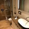 Spacious bathroom - single sink