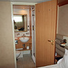 Looking into the Bathroom - Standard Cabin