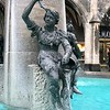 Boy with a fish - Fountain - Munich, Germany