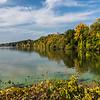 KM Fox River Pix 1051- Little Kaukauna Canal in Fall