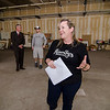 Jackie Cullen gives a tour of River Styx Brewing, a new brewery set to open next year on Boulder Dr. in  Fitchburg. SENTINEL & ENTERPRISE / Ashley Green