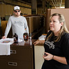 Scott and Jackie Cullen talk about plans for River Styx Brewing, a new brewery set to open next year on Boulder Dr. in Fitchburg. SENTINEL & ENTERPRISE / Ashley Green