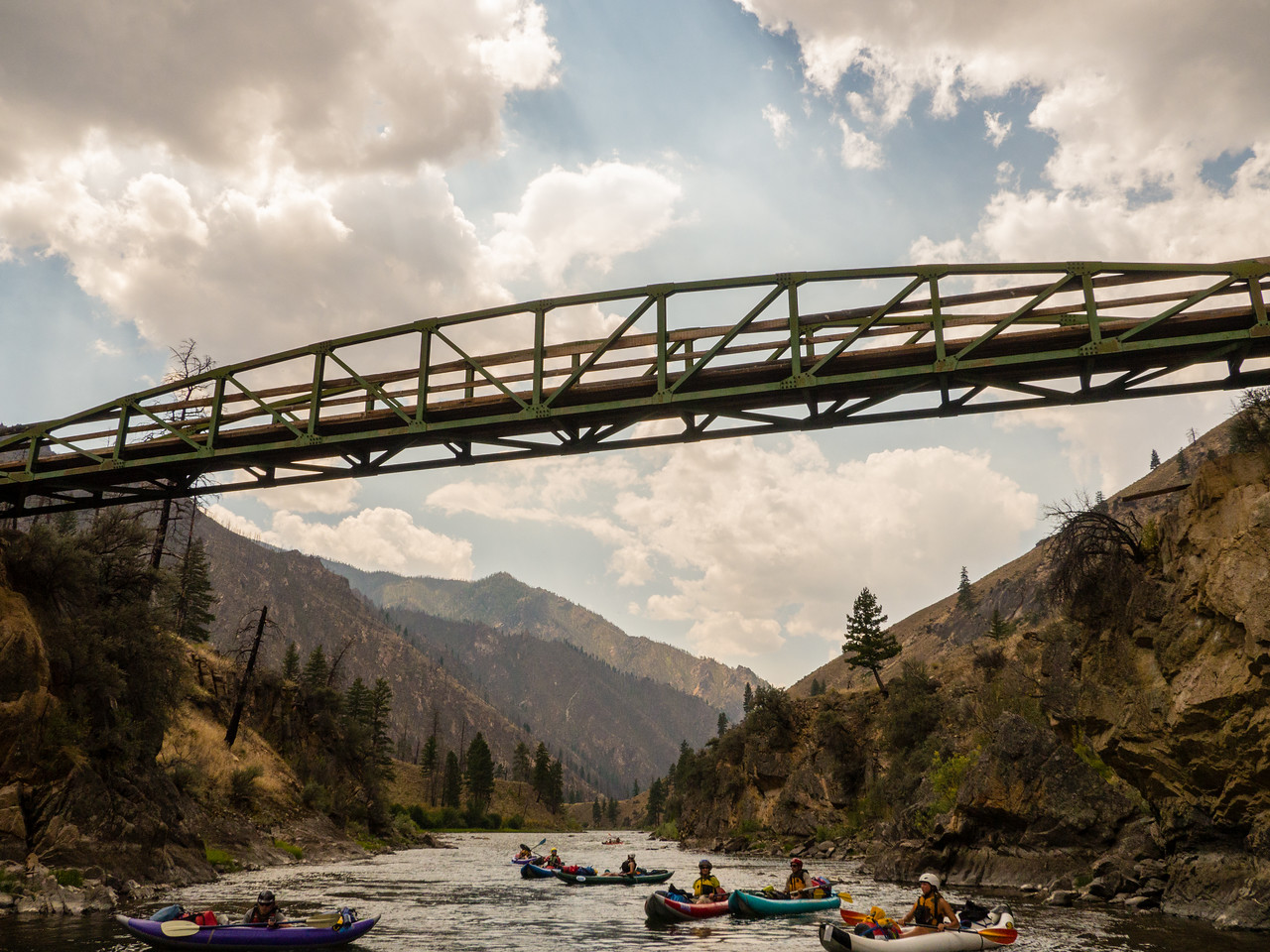 Middle Fork Salmon River 2015 Aug 1-7 1.64' at MF Lodge
