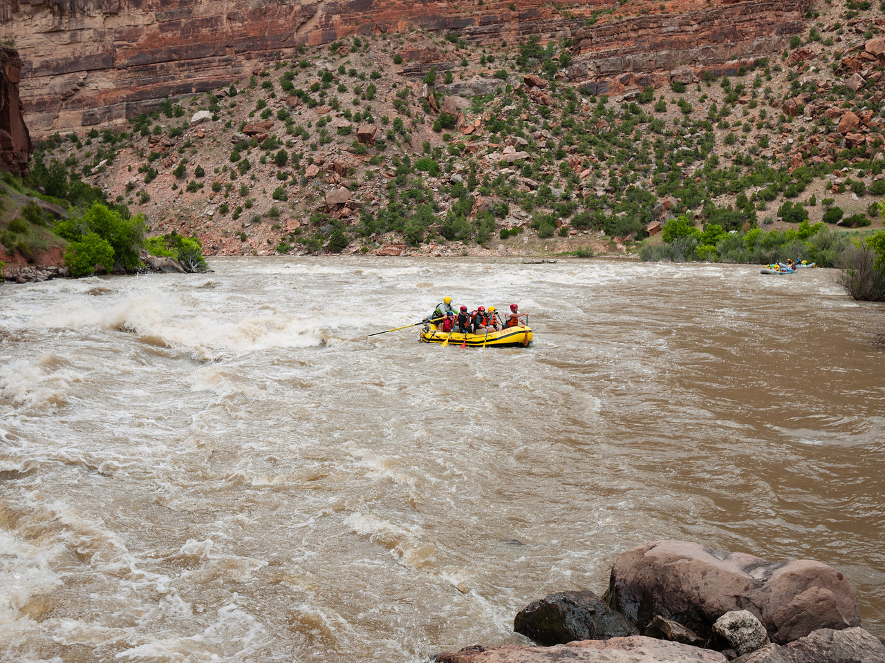 2016 Yampa River and Green River