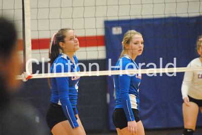 River Valley Conference volleyball pool play at Camanche — Oct. 11, 2016