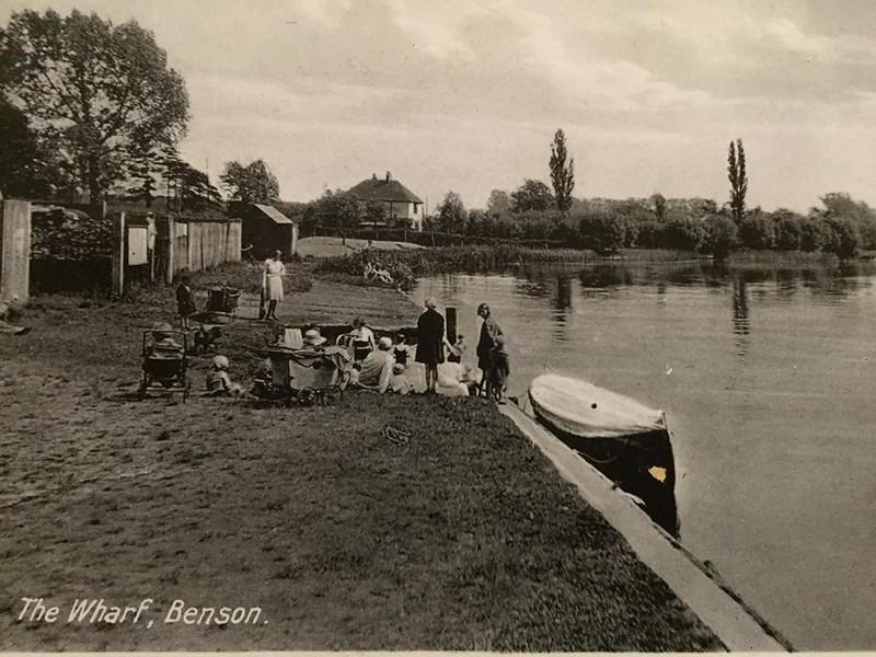 Coal Wharf - 1920's (BS0299)