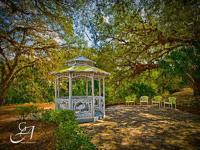 Gazebo On Caloosahatchee River