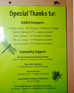 RLP -- Insect Exhibit 2012
