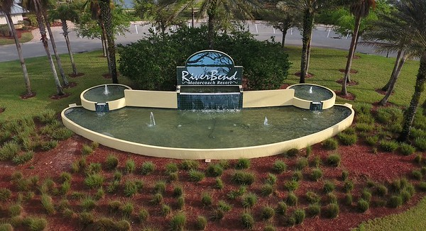 Riverbend Motorcoach Resort Entrance