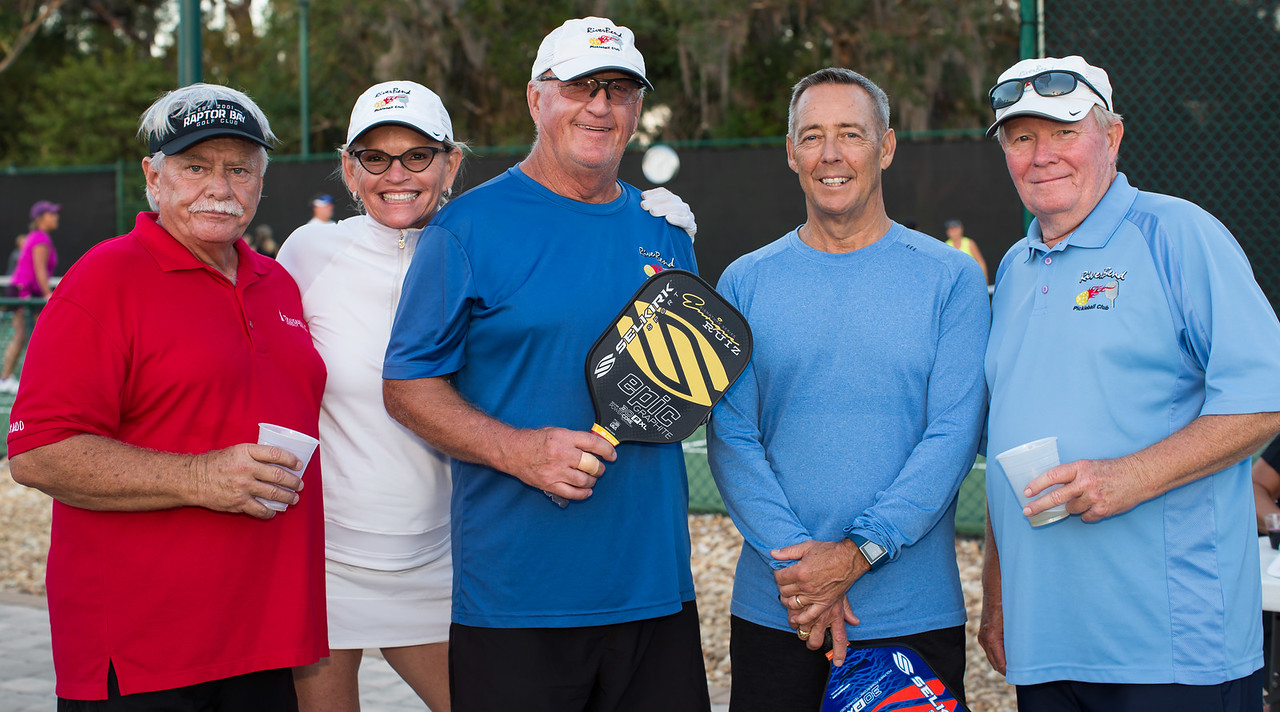 More Pickleball Players