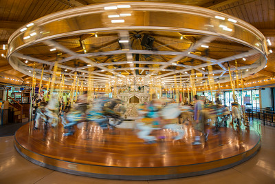 Riverfront Park Carousel in Motion
