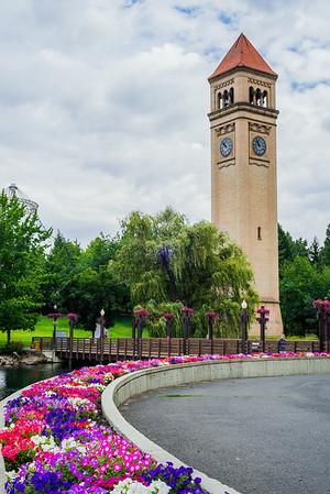 Riverfront Clock Tower