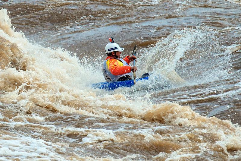kayak splash