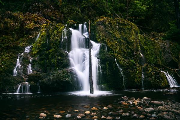 Middle Mashel Falls