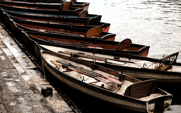 Boats, Rivers and the Sea