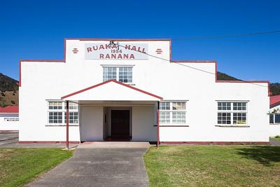 Ruaka Hall, Ranana, Whanganui