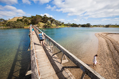 Pataua River Estuary and footbridge, Pataua, Northland
