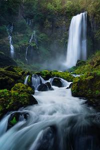 A gorgeous waterfall tucked away in Washington