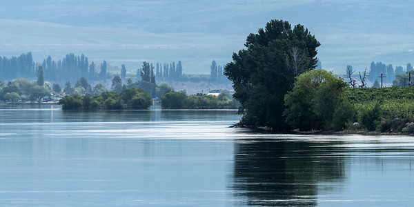 The Columbia River at Brewster, Washington