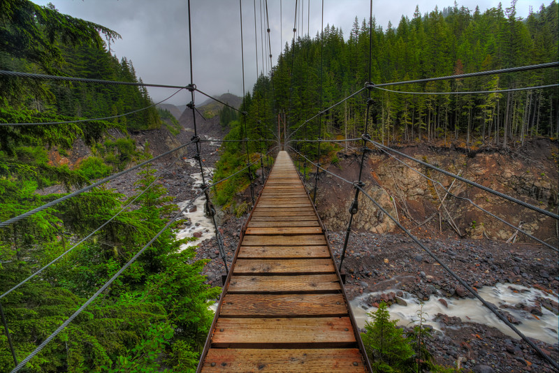~ Tahoma Suspension Bridge ~