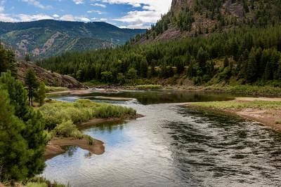 Clarks Fork near Missoula, Montana