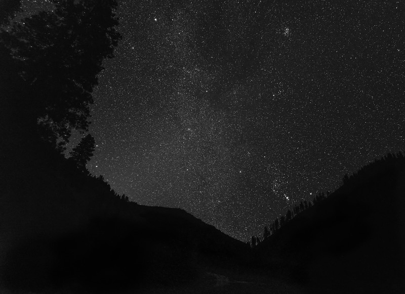 Night Sky from the Salmon River