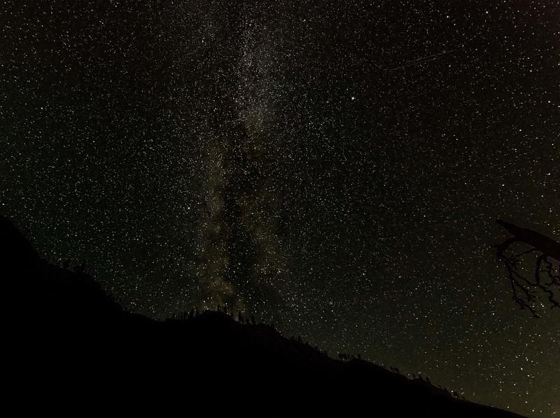 Milky Way above the Salmon River, Idaho