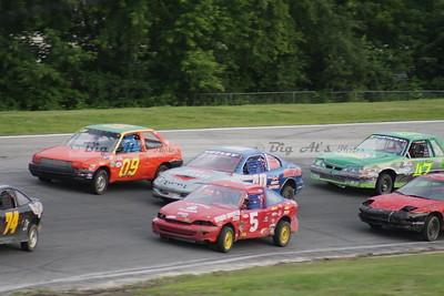 Riverside Speedway-07/24/09 Jake McDowell 100