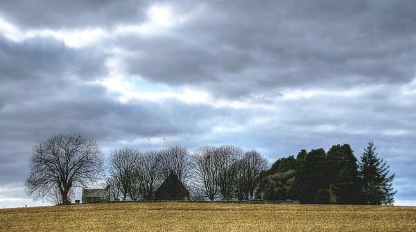 Old Churchyard, Dyce   (16 x 8  or 12 x 6 Panorama)
