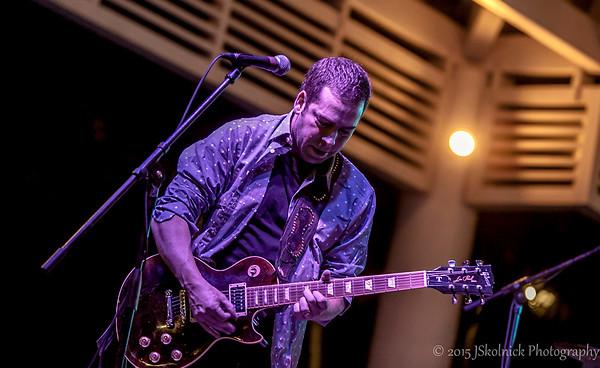 Albert Castiglia at the Riverwalk Blues Fest 2015